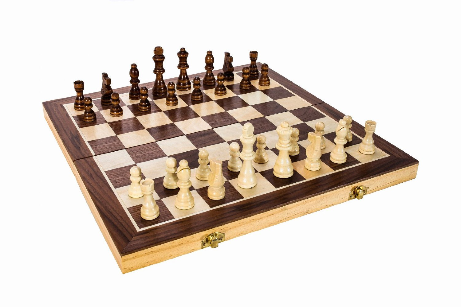 Wooden Chess Table ~ Quot folding wooden chess board