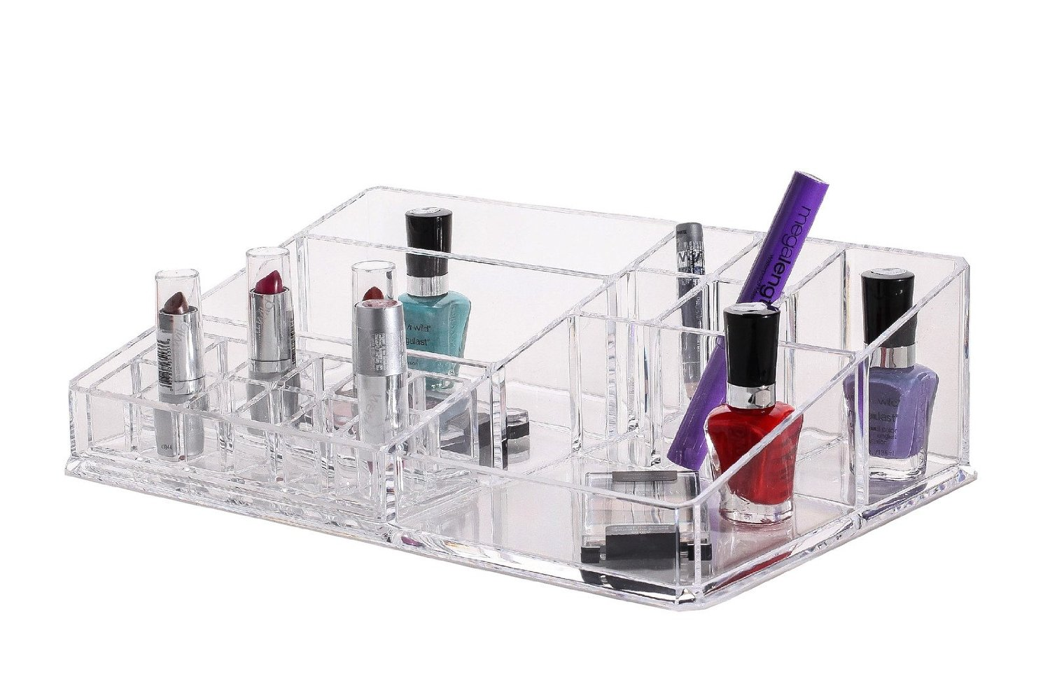Design Cosmetic Organizer large acrylic cosmetic organizer with removable lipstick holder